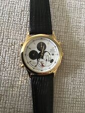 Disney Seiko Mickey Mouse Chronograph Date Alarm Watch