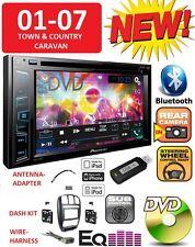 01-07 CARAVAN TOWN & COUNTRY BLUETOOTH TOUCHSCREEN CD DVD USB Car Radio Stereo
