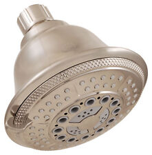 LDR 520 5346BBN Shower Head 5 Function Brushed Nickel Finish with Brushed Nickel