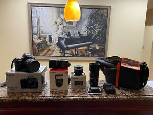 Canon EOS 5D Mark IV Digital SLR Camera Body 30.4 MP Full-Frame and MUCH MORE !!
