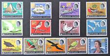 1967 Pitcairn Islands - Decimal Currency Definitives-Boats & Birds - Set 13 MNH