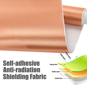 EMF RF RFID Shielding Fabric Self-adhesive Radiation Protect Material Conductive