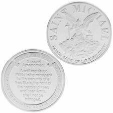 Saint Michael Law Enforcement Amendment Commemorative Coin Souvenir Gifts Alloy
