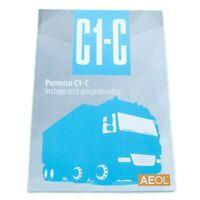 Libro manual permiso C1 y C Camión Carnet por libre 10temas 10 test ValmoniSport