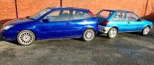 Ford Focus St170 + Mk3 Fiesta project, Rs Turbo wheels, Xr2i bumpers.