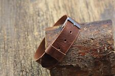 Handmade  Leather Watch strap 16mm 18mm 20mm 21mm 22mm 24mm 26mm watch band