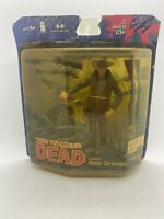 McFarlane The Walking Dead Rick Grimes Action Figure Comic Book Series 1 New