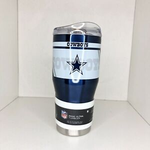 Dallas Cowboys Tumbler Ultra 24 oz Travel Stainless Steel Hot Cold