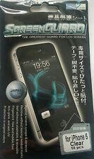 10 X Apple iPhone 5 5C 5S Protector De Pantalla Frontal Transparente Film Lcd Protector De La Hoja