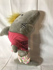 "Vintage Ron Jon Surf Shop Surf Cruiser 17"" Plush Shark Large ""ONE OF A KIND"""