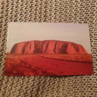 Ayers Rock - Vintage Postcard