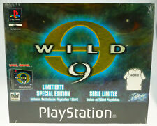 Wild 9 Limitierte Special Edition OVP Sony Playstation 1 PSX PS1 NEU NEW SEALED