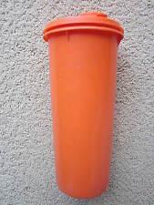 Vintage Tupperware Orange 32 Ounce Jug W/ Flip Top Lid