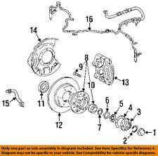 Toyota Oem Abs Anti-lock Brakes-Front Speed Sensor 0489560060