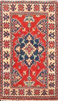 Geometric Super Kazak Oriental Area Rug WOOL Hand-Knotted Home Decor Carpet 2x3