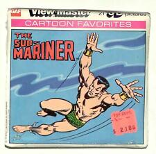 SEALED 1978 vintage GAF view master SUBMARINE reel set MARVEL COMICS superhero !