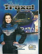 2010 Melanie Troxel Pro Care RX Dodge Charger Funny Car NHRA postcard