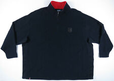 Vintage Polo Ralph Lauren Suicide Ski Patch Crest 1/4 Zip Fleece Jacket 5XB Big
