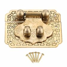 Vintage Box Case Latch Lock Security Hasp Latch Catch Hardware Accessories DIY
