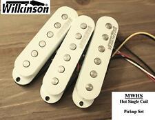 Wilkinson MWHS Hot Single Coil Pickups for Stratocaster® Strat® White MIK