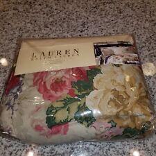 New Ralph Lauren King Bedskirt - Surrey Garden Floral Purple