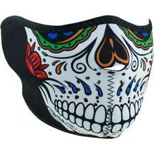 Muerte skull half face mask one size - Zan headgear WNFM413H