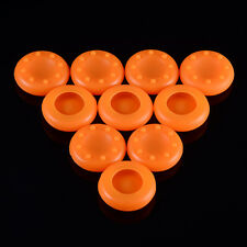 10 X Orange Silicone Analog Thumb stick Grips For Xbox 360 Xbox One PS3 PS4 WII