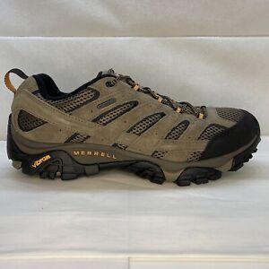 Merrell Moab 2 Waterproof Hiking Shoes Walnut Men's Size 11.5
