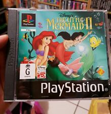 The Little Mermaid II - PS1 SONY PLAYSTATION 1 💜 💜💜 FREE POST