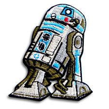 R2D2 Astromech Droid Robot Star wars Patch Embroidered Iron on Storm Trooper