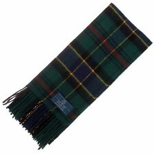 Scottish 100 % Authentic Wool Tartan Ogilvie Hunting Clan Scarf New !