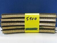 Märklin H0 5100 M - Gleis gebogen 10 Stück (y1289)