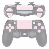 Sakura Pink Touchpad Home L1R1 R2R2 Full Set Buttons for PS4 Pro Slim Controller