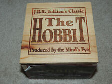 Audio Book 6 Cassette Box The Hobbit J.R.R. Tolkien 1979 In Wooden Box