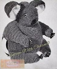 Vintage Crochet Pattern For Koala Tea Cosy. JUST £1.99 & FREE P&P