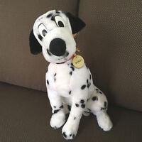 "Vintage Disney 101 Dalmatians PONGO Dog Plush Stuffed Toy 15"" with Tags"