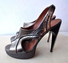 Leather Slingbacks Medium (B, M) Elastic Sandals & Flip Flops for Women