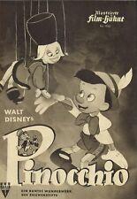 IFB 1050   PINOCCHIO   Walt Disney   Zeichentrickfilm   Top