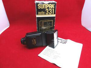 Sunpak Auto 331 Tilt & Swivel & Zoom Flash