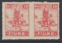 ITALY FIUME Sass.C35h VARIETY UNPERFORATE at center cv 500$  MH*