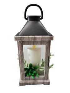 Bath and Body Works Succulent Wood Lantern Nightlight Wallflowers Warmer Plug