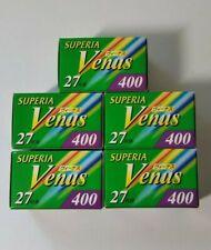 5 Rolls Fuji color Film Superia Venus Excellent 27 Expired Iso400