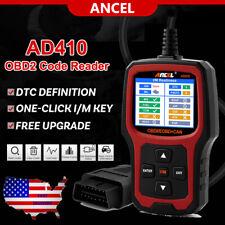 EOBD OBD2 Scanner Car Check Engine Fault Code Reader Diagnostic Tool I/M Hot Key
