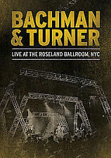 Bachman And Turner - Live At The Roseland Ballroom, NYC (DVD, 2012)  NEW Promo