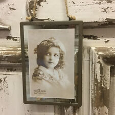 Sass & Belle Industrial Finish Rectangular Hanging Photo Frame Portrait Picture