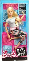 Made to Move Jointed Articulated Blonde Yoga Barbie Doll for OOAK