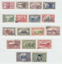 TURKEY 1914   ISSUE USED FULL SET  ISFILA 461/77 = MICHEL 229/45