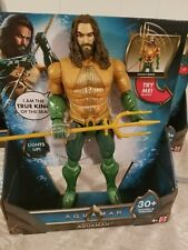 Aquaman Trident Toy 30 Plus Sounds And Frases. Lights up NEW