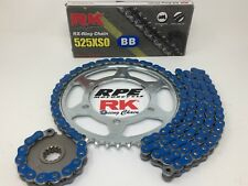 Blue 2011-19 Suzuki GSXR600 RK 525xso 15/43 Quick Accel Chain and Sprockets Kit