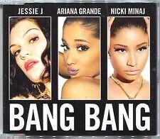 JESSIE J Ariana Grande NICKI MINAJ Bang Bang 2-Track CD SINGLE with Solo Version